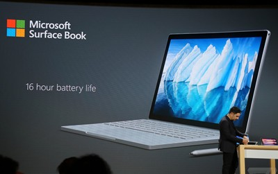 Surface Book i7 16 hours of battery life