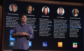 Terry Myerson Surface Pro 4 Launch