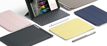 Apple Pencil, Covers, and keyboard