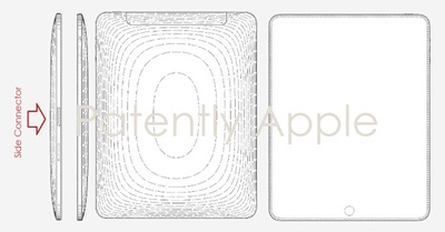 Apple patent for side Connector