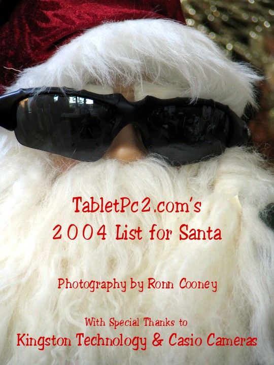TABLET PC LIST FOR SANTA