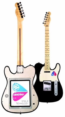 Fender with Tablet PC