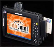 Mobile Demand's T8700 Rugged Tablet PC